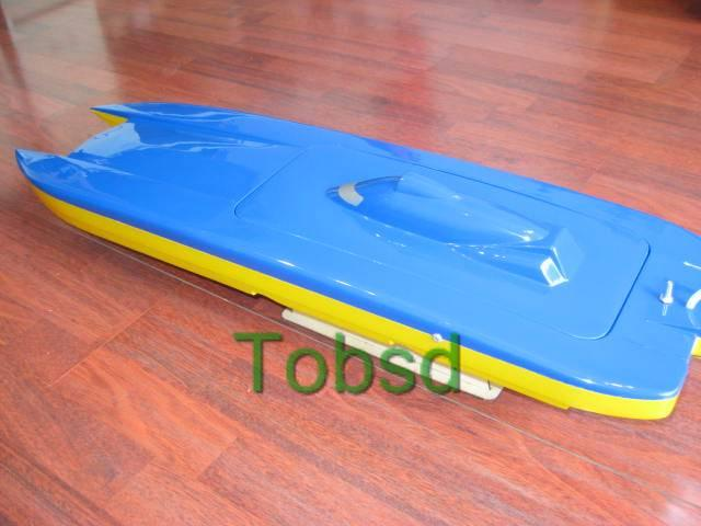 Blue Ghost Kit Catamaran EP Fibreglass RC Racing Boat Ship