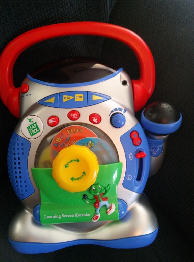 leapfrog learning screen karaoke machine