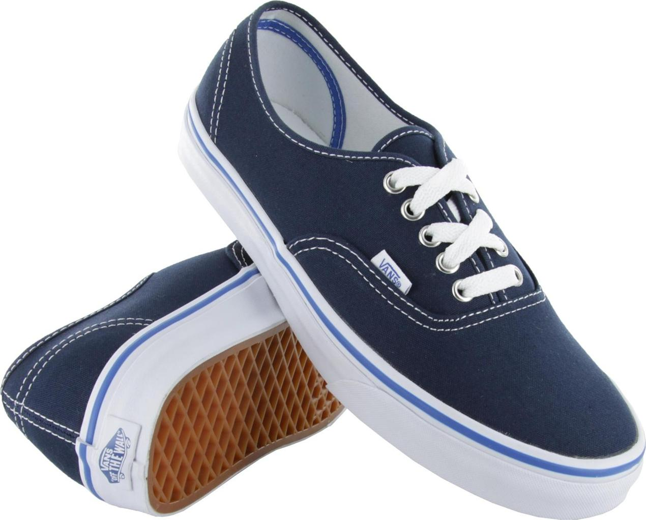 dress blue vans authentic