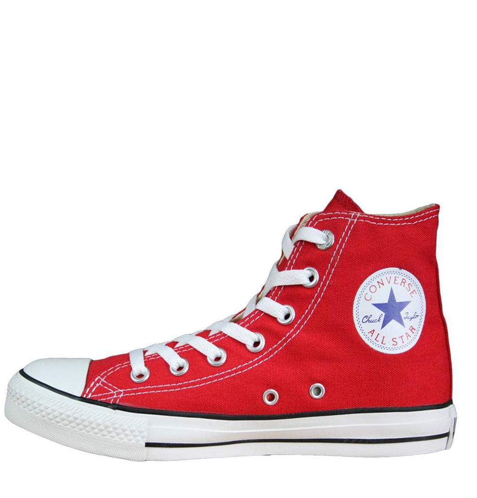 Converse-All-Star-Hi-Unisex-Trainers-M9621-Red