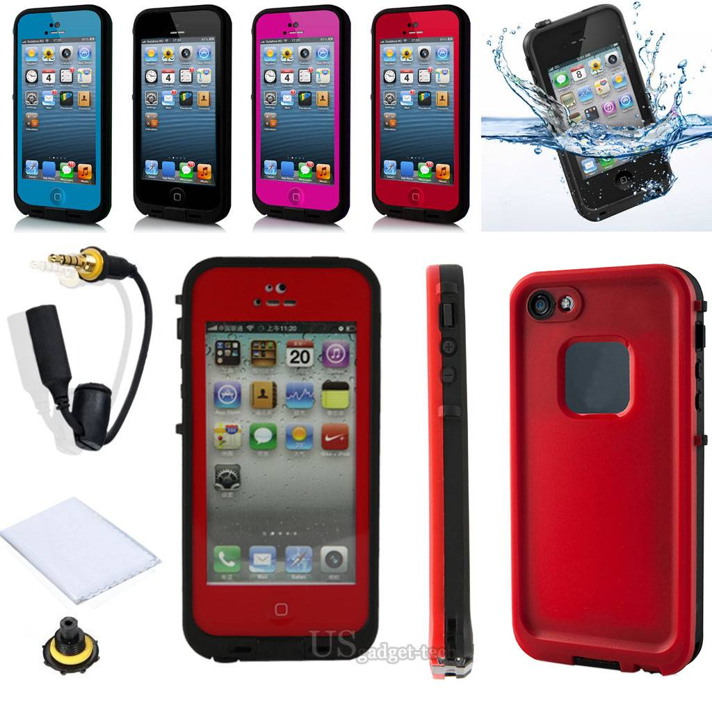 ... -Redpepper-Water-Proof-Case-For-Apple-iPhone-6-Plus-4S-5C-Life-Water