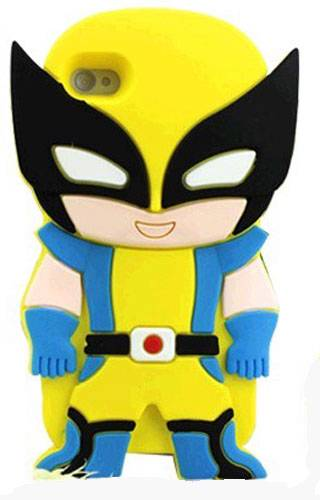 Superhero-Cartoon-Comic-Silicone-Bubble-Case-iPhone-4-amp-4S-Soft-Rubber-Cover