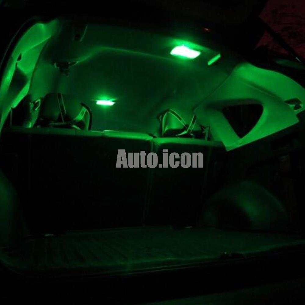 2009 2015 Dodge Ram 1500 2500 3500 Green Led Lights Interior Kit W Spare Bulbs Ebay