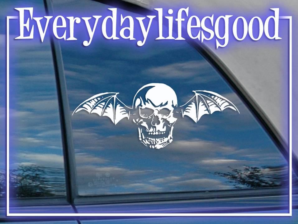 Avenged-Sevenfold-A7X-Bat-Logo-Sticker-Vinyl-Metal-Decal-s176
