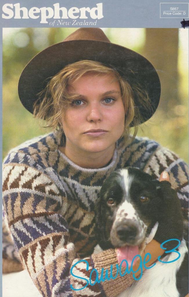 Shepherd Knit ptn book S867 - LADYS/MEN JUMPERS - 8 designs eBay