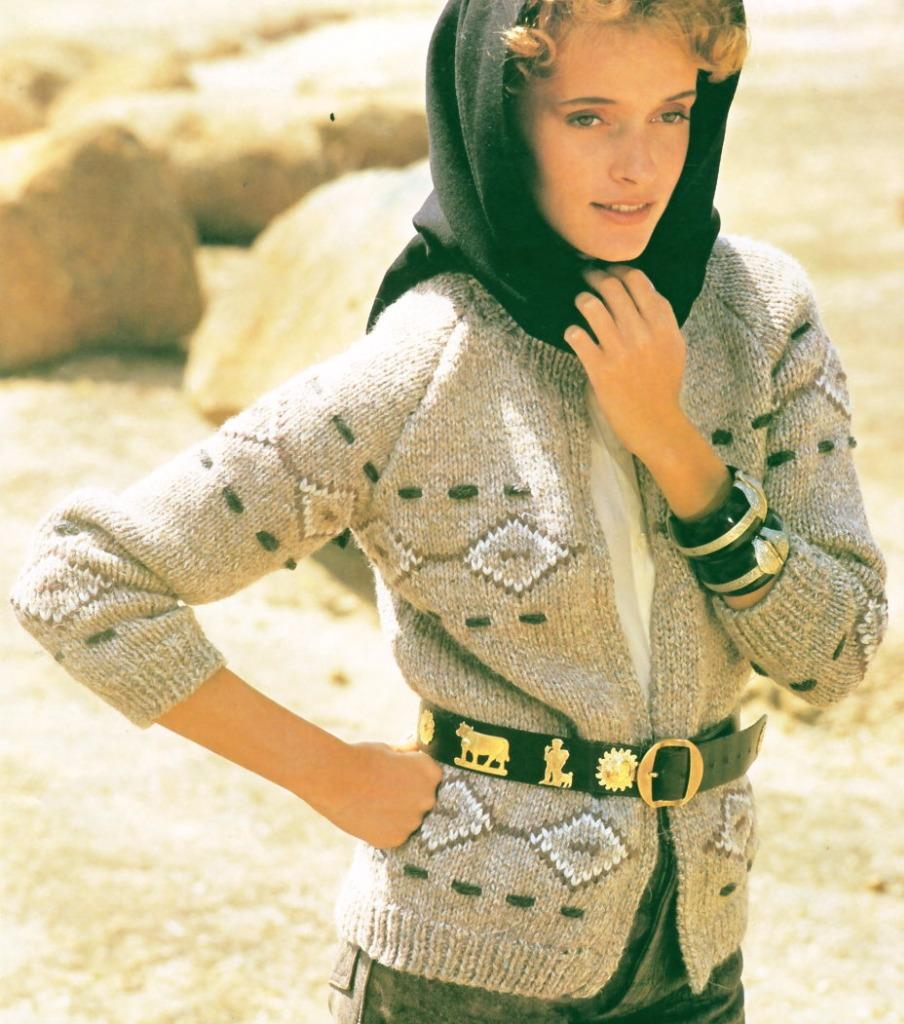 Knitting Pattern Cardigan 8 Ply : Patons Knit pattern book 699 - LADYS 8 ply JUMPERS, VEST, CARDIGAN