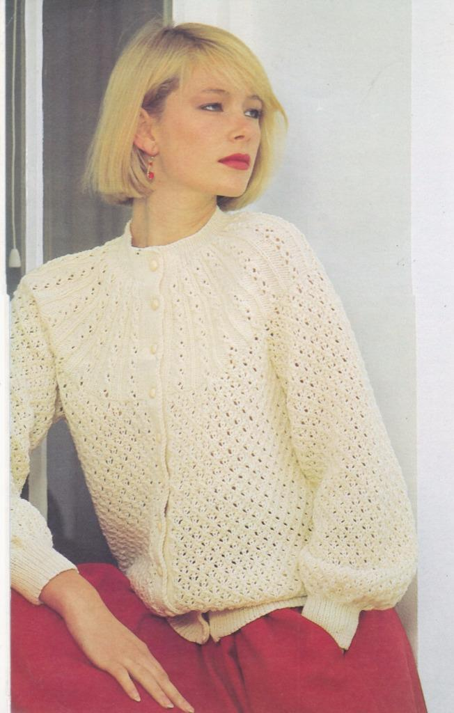 Knit Baby Blanket Pattern Easy Free : Patons knitting pattern book 763 - MISSES 5 ply JUMPERS, CARDIGANS, VEST eBay