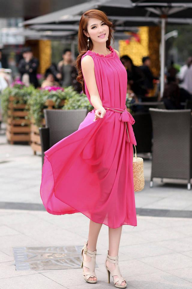 Sexy New Women Fashion Maxi Dress Beach Dress Formal Party