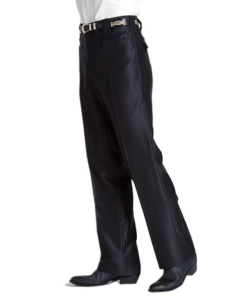 new mens premium western straight leg casual dress pants