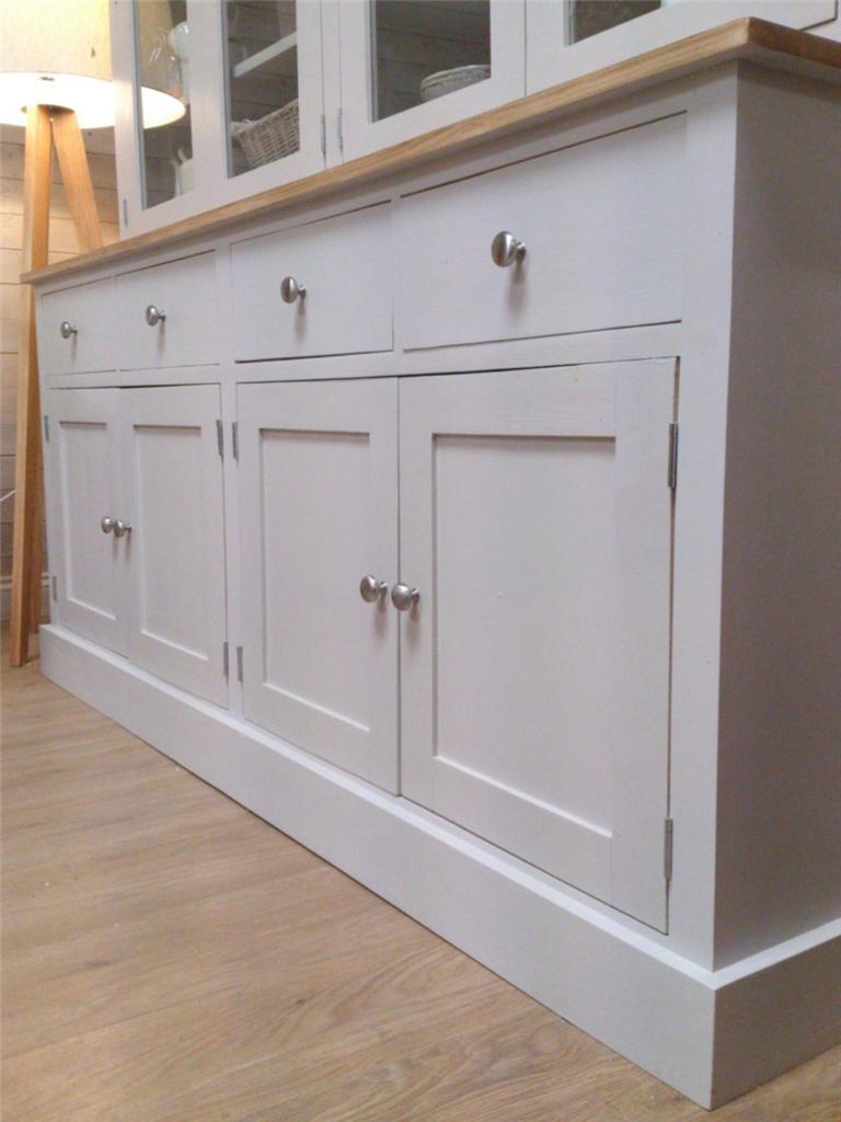 New 6ft Solid Pine Welsh Dresser Kitchen Unit Shabby Chic