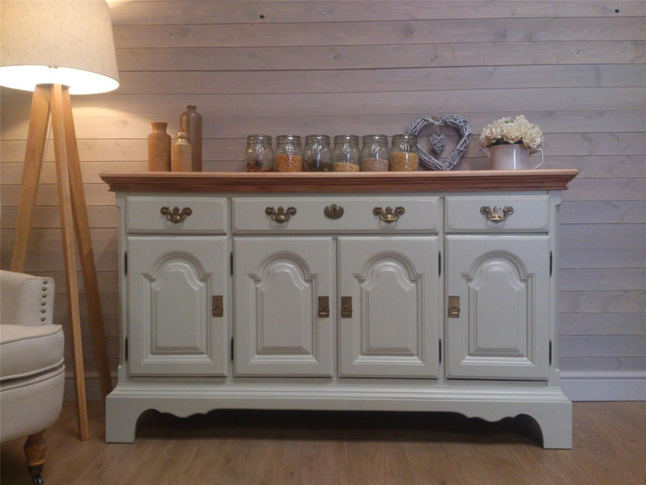 beautiful mahoghany farmhouse sideboard cabinet shabby chic painted furniture fb. Black Bedroom Furniture Sets. Home Design Ideas