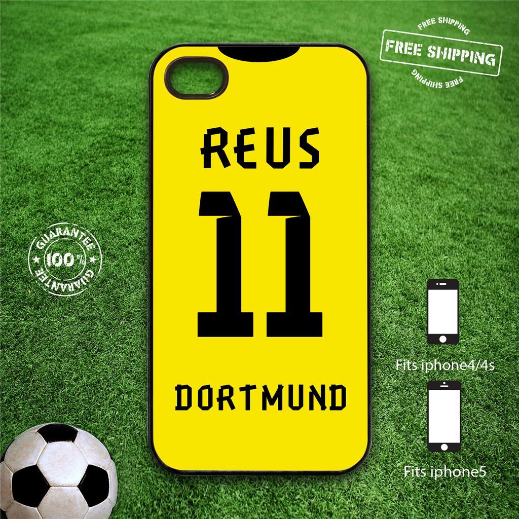 Borussia dortmund p.ex iPhone 4 / 4s iphone 5 cas dur