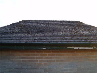 USED OLD RECLAIMED ROSEMARY ROOF TILES INCLUDING HIP