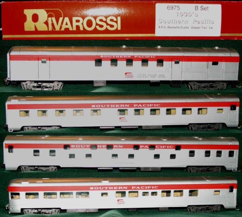rivarossi ho scale southern pacific sunset limited passenger sets model train forum the. Black Bedroom Furniture Sets. Home Design Ideas