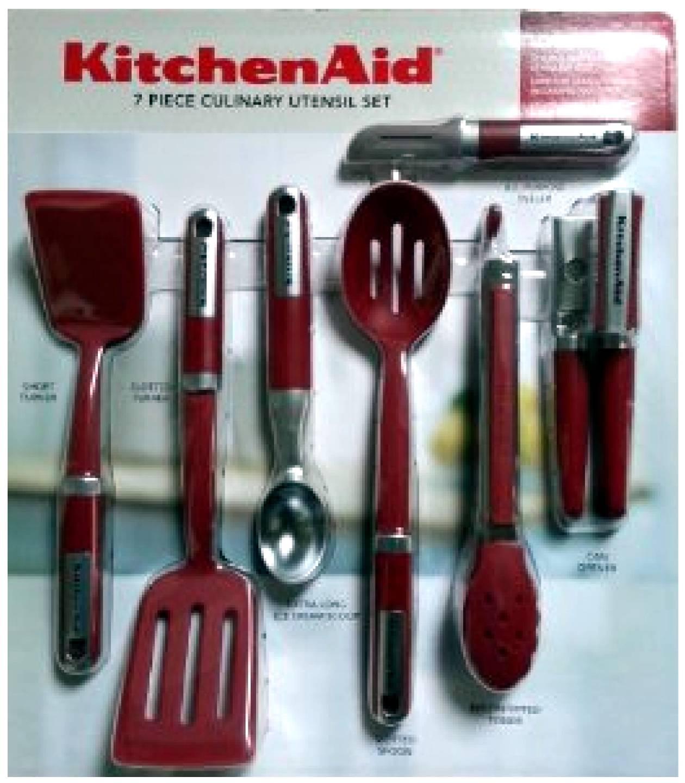 Kitchen Aid Multicolor Utensils