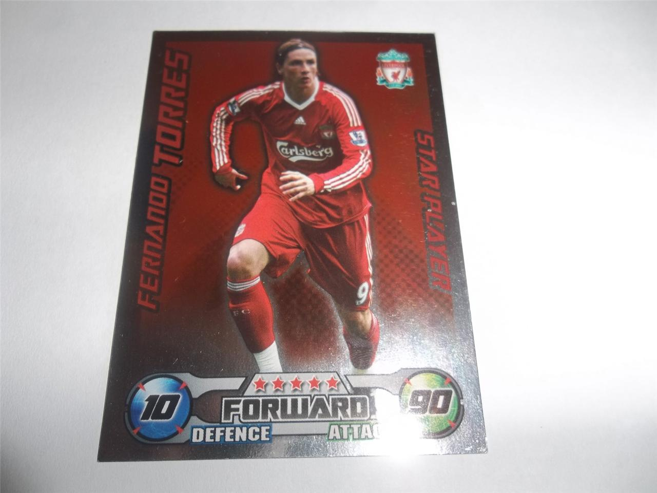 Topps-Match-Attax-Extra-2008-2009-Season-STAR-PLAYER-Cards