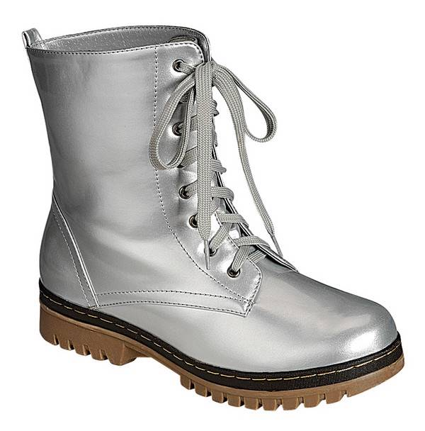 Creative Womens Military Vintage Army Lace Up Goth Combat Flat Retro Rock Boots UK 3-10 | EBay