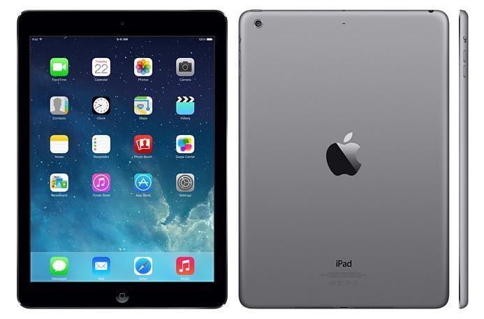 Apple iPad Air Retina Display (1st Gen) 4G GSM Unlocked 16GB Space Gray/Silver