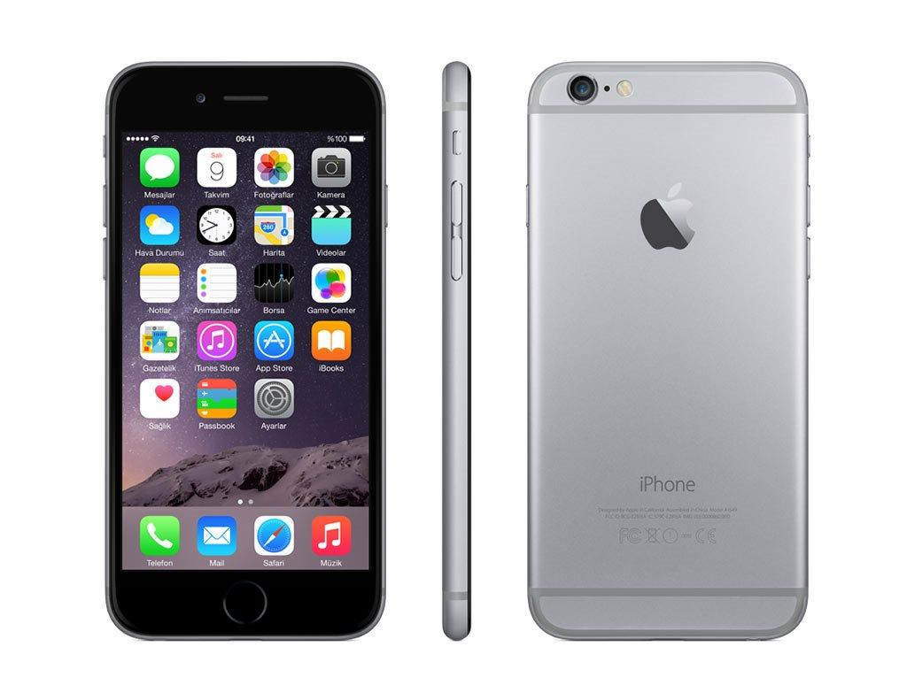apple iphone 6 16gb factory unlocked smartphone gold silver space gray a1586 ebay. Black Bedroom Furniture Sets. Home Design Ideas