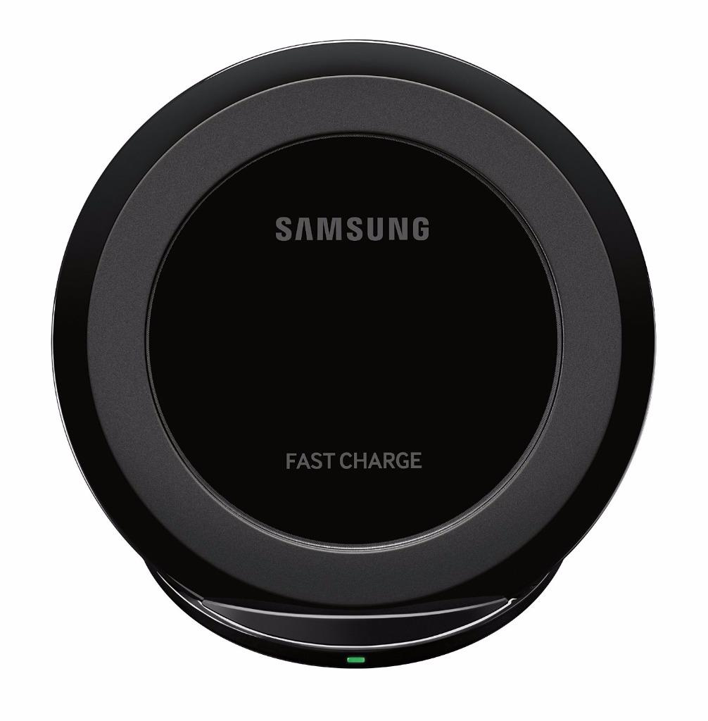 samsung fast charge portable wireless charging stand for qi enabled devices ebay. Black Bedroom Furniture Sets. Home Design Ideas