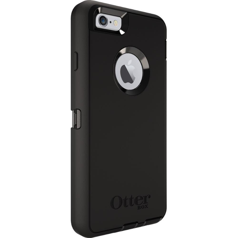 otterbox defender series case w drop protection clip for iphone 6 6s black ebay. Black Bedroom Furniture Sets. Home Design Ideas