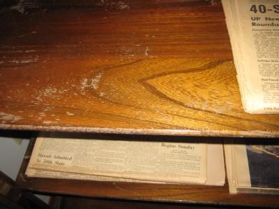 Mechanics Furniture Company Wooden Glass Cabinet Rockford Illinois Beautiful Ebay
