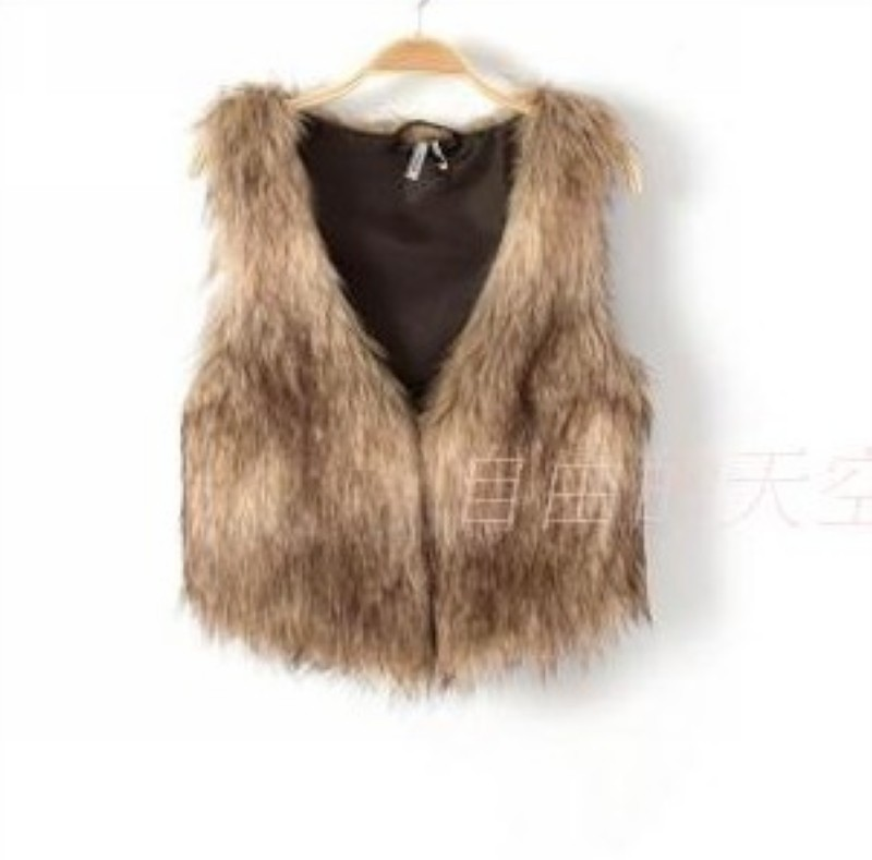 anthonyevans.tk: brown fur vest for women. From The Community. Amazon Try Prime All Faux fur vest, Short waistcoat vest, Open front vest with hook. MEEFUR Rabbit Fur Vests with Raccoon Fur Collar Real Fur Knitted Women Waistcoat. by MEEFUR. $ $ .