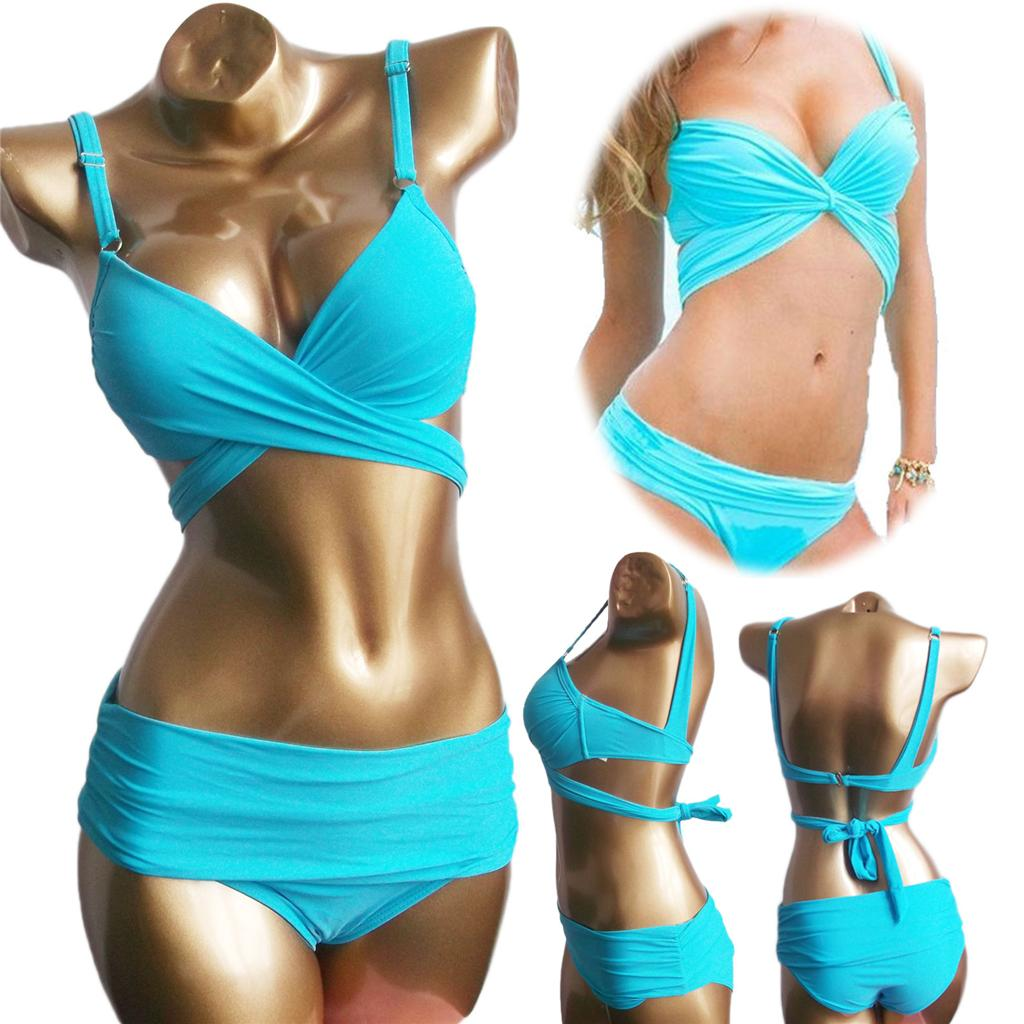 women's push up swimsuit tops When you need things put in place, push up bikini tops are a perfect choice. With supportive underwire and molded cups made to maximize your bust, these tops give you the lift your ladies need.