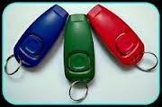 Dog-Training-Clicker-Whistle-Combination-for-Pet-with-Key-Ring-Ergonomical