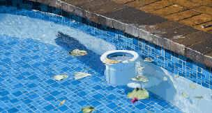 New in box poolskim automatic return line pool surface skimmer leaf cleaner ebay for Inground swimming pool skimmer installation