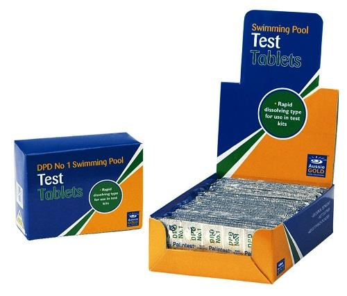 Swimming Pool Testing : Aussie gold in refill kit for swimming pool and spa