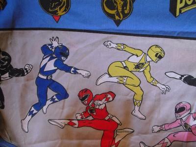 Power Ranger Twin Bed Set