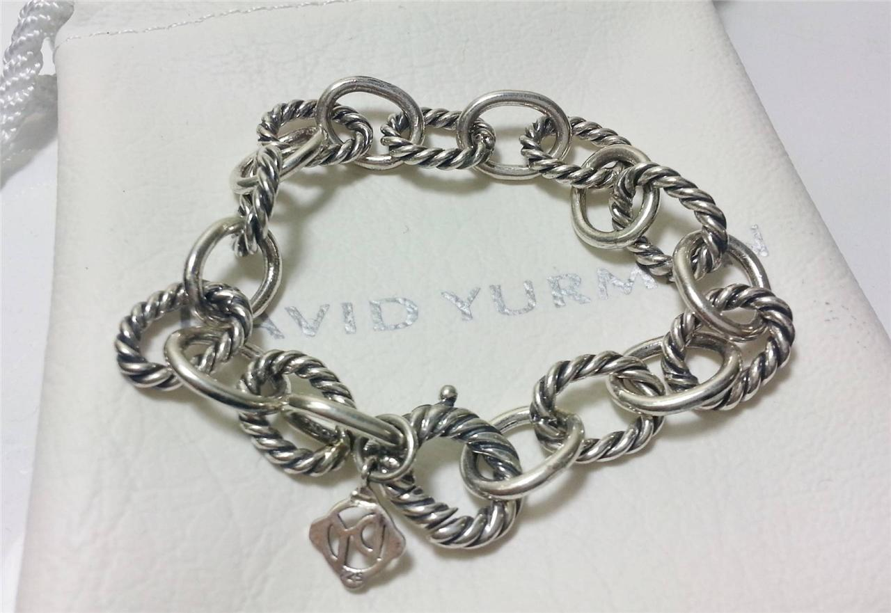 david yurman sterling silver overlink bracelet
