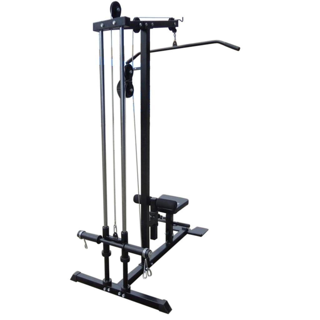 lat pulldown machine weight