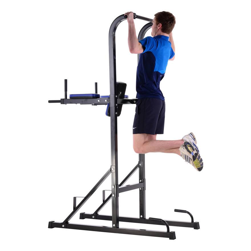 New-Fitness-Power-Tower-Multi-Station-Chin-Dip-Pull-Push-Up-Abs-Home-Gym