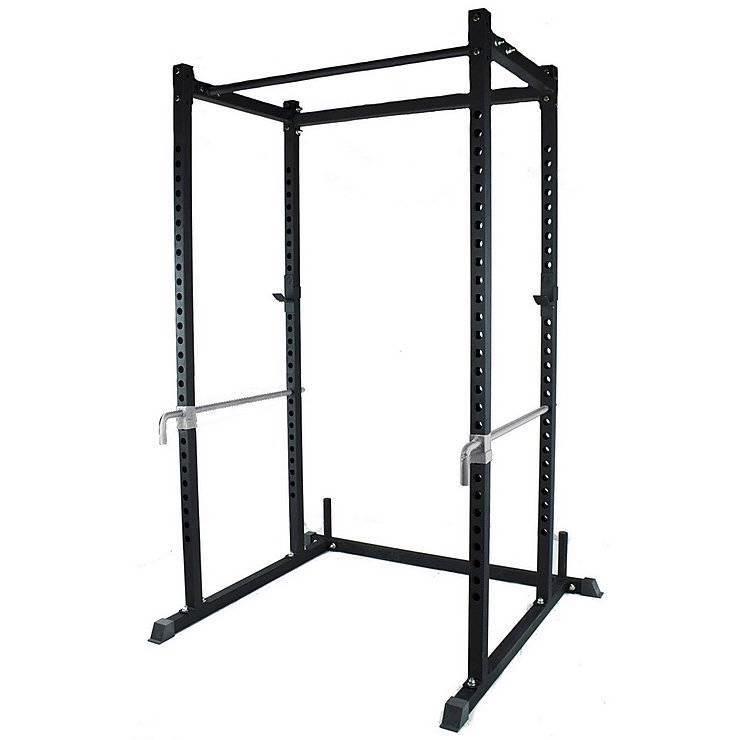 Power rack squat multi station cage deadlift lift home gym for Cheap power rack