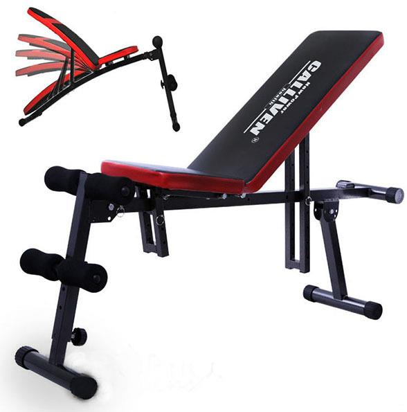 Ab multi fid flat decline incline gym bench press weight fitness home exercise ebay - Incline and decline bench press ...