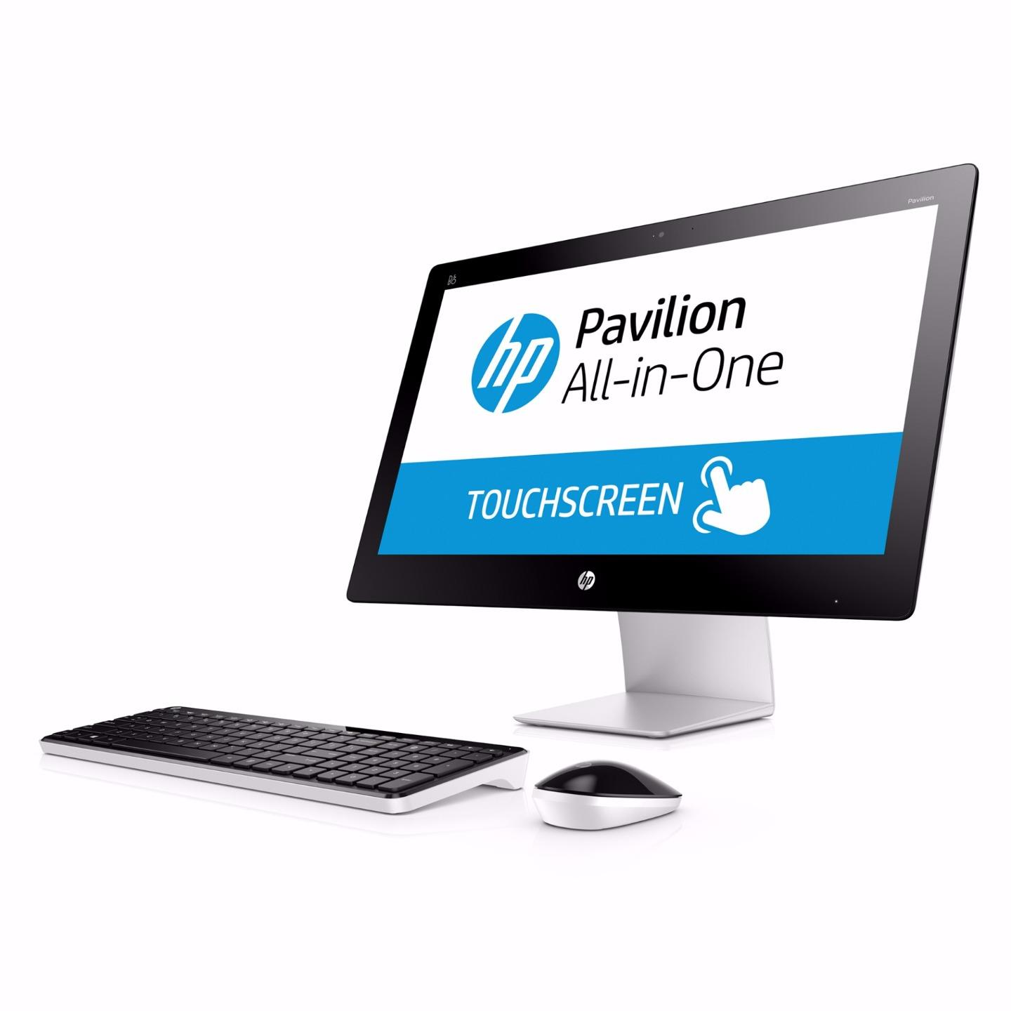 hp pavilion 23 q101a aio desktop 23 fhd touch i3 4170t. Black Bedroom Furniture Sets. Home Design Ideas