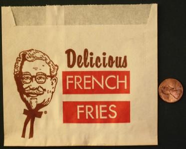 1960 70s era colonel sanders kentucky fried chicken kfc - Kentucky french chicken ...