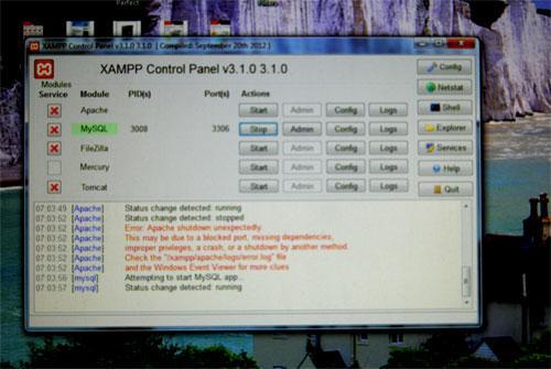 Xampp_NoRun