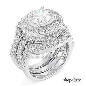 item specifics - Sterling Silver Wedding Ring Set