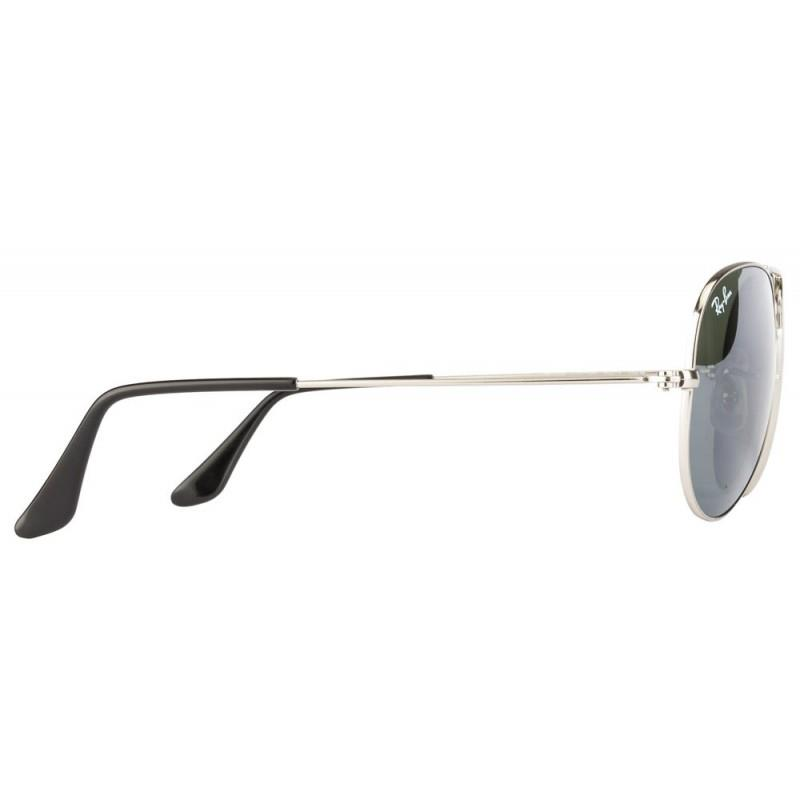 Ray ban aviator silver mirror large for Cheap silver mirrors