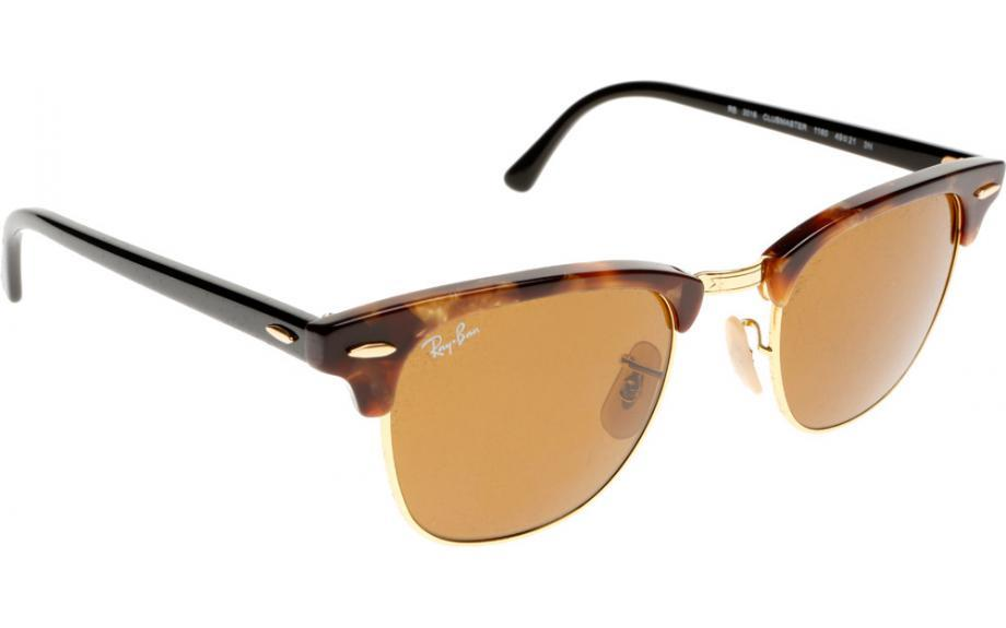 ray ban clubmaster amazon  RAY BAN NEW CLUBMASTER RB3016-1160 SPOTTED BROWN HAVANA BROWN 100 ...