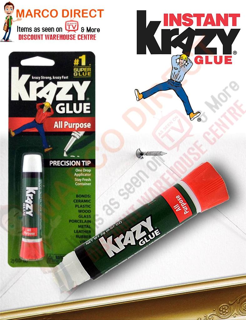 Krazy glue glass repair