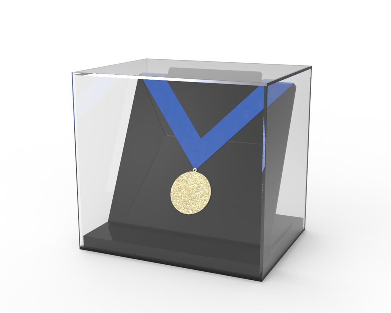 Medal-Acrylic-Perspex-Display-Case-Freestanding-Single-Medal