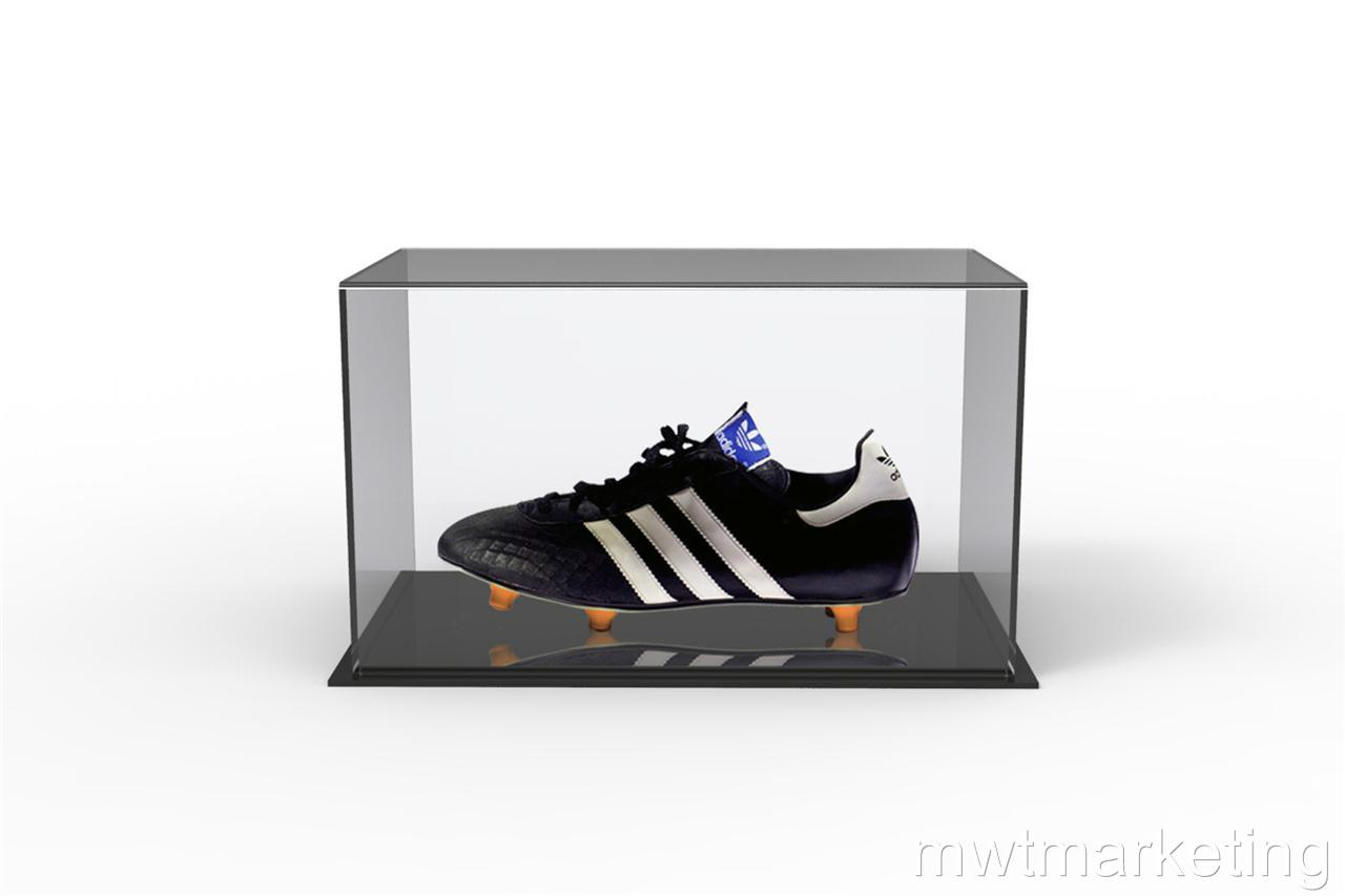 Acrylic-Perspex-Boot-Display-Case-Great-way-to-display-that-special-Signed-Boot