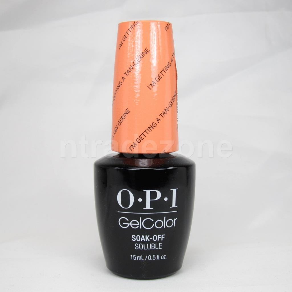 opi gelcolor soak off uv led nail polish lacquer 0 5oz