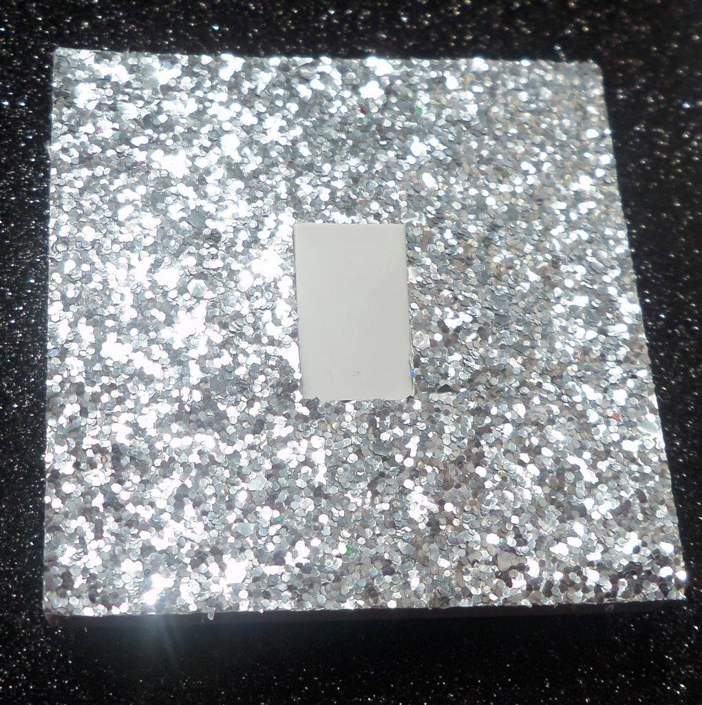Silver Light Switch Covers Glitter Light Switch Covers **lots Of Colours** Very Sparkly**easy