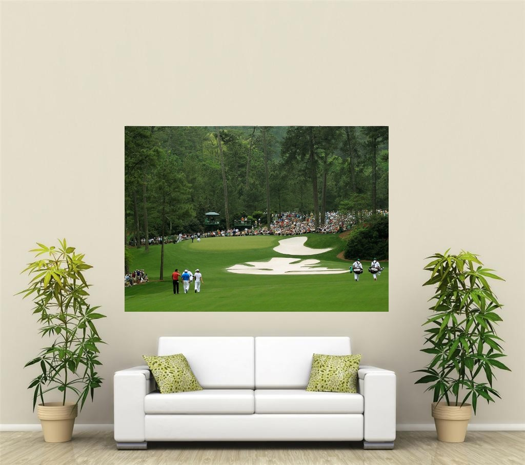 augusta national golf plat g ant 1 pi ce d coration murale affiche sp102 ebay. Black Bedroom Furniture Sets. Home Design Ideas