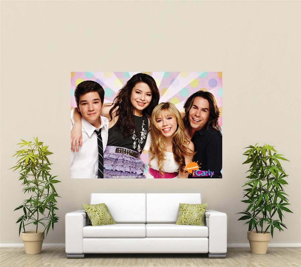 icarly riesig 1 teile wandkunst poster kr139 ebay. Black Bedroom Furniture Sets. Home Design Ideas